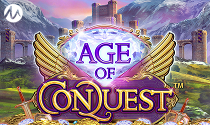 Microgaming Explores Epic Worlds in Age of Conquest via Neon Valley Studios