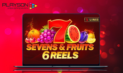 Playson Expands Timeless Fruit Series with Sevens and Fruits 6 Reels