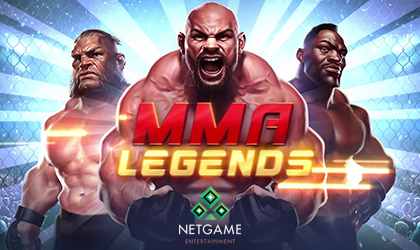 NetGame Entertainment Goes Live with MMA Legends Slot