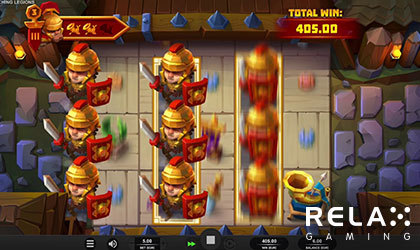 Relax Gaming Enters Battlefield with Marching Legions Slot