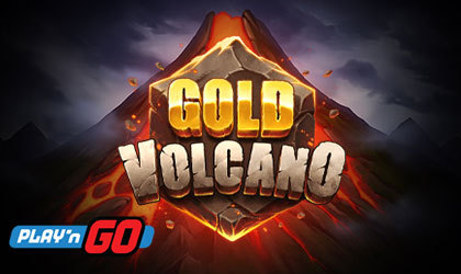 Play n GO Goes Boom with Prizes in Gold Volcano Slot