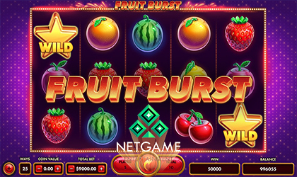 NetGame Entertainment Taps into the Classic Vibe with Fruit Burst
