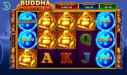 Booongo Goes Spiritual with the Release of Buddha Fortune Slot