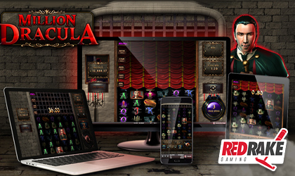 Experience the Horror in Million Dracula by Red Rake Gaming