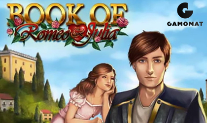 GAMOMAT Releases the Book of Romeo and Juliet Slot