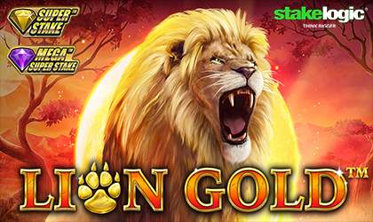 StakeLogic Announces Lion Gold Slot Super Stake Slot
