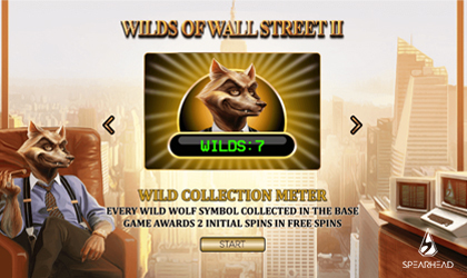 Spearhead Studios Releases Video Slot Wilds of Wall Street II