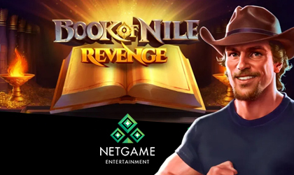 NetGame Entertainment Delivers Players Book of Nile Revenge Slot