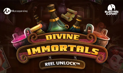 Microgaming and Electric Elephant Tease Players with Divine Immortals Release