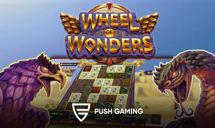 Push Gaming Delivers Players Wheel of Wonders Slot