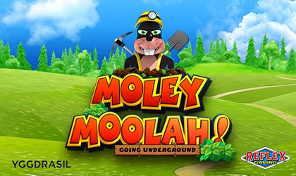 Yggdrasil and Reflex Gaming Launch Moley Moolah Slot