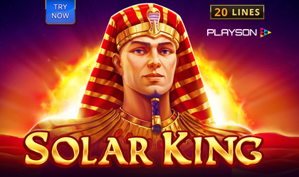 Playson Shines Live with Another Slot Called Solar King
