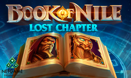 NetGame Entertainment Launches Book of Nile Lost Chapter