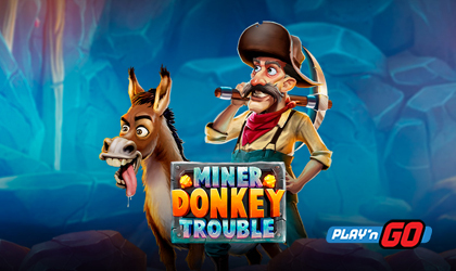 Play n GO Digs for Treasure with Miner Donkey Trouble
