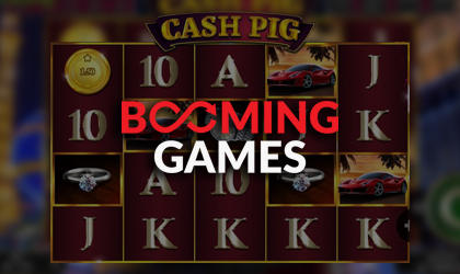 Booming Games Goes Live with Cash Pig Slot