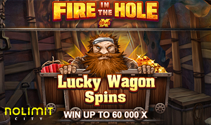 Nolimit City Rolls out Fire in the Hole xBomb Slot