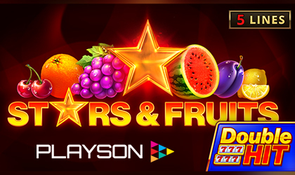 Stars and Fruits Double Hit Launched by Playson