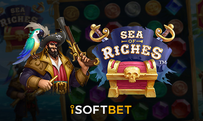 iSoftBet Invites Players to Pirate Island with Online Slot Sea of Riches
