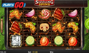Sizzling Spins is the Newest from Play'n GO