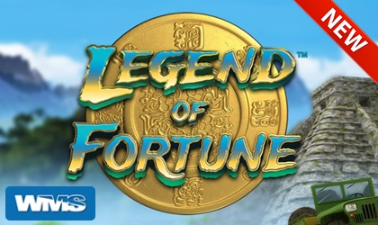 Play the new legend of fortune slot from WMS