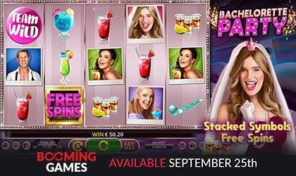 Booming Games Live with Bachelorette Party