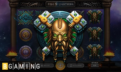 Bgaming offers a slot full of fire and lightning!