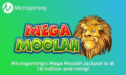 Mega Moolah now at 18 million euros!
