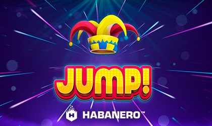 Jump, leap, and bounce your way to wins in Habanero Jump slot!