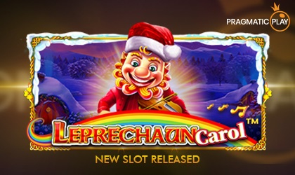 Pragmatic Play Releases Christmas Sensation, Leprechaun Carol