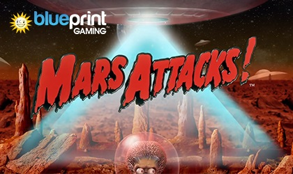 Mars Attacks Reel Slot Live from Blueprint Gaming