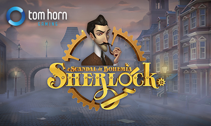 Tom Horn Gaming Celebrates Fictional Detective in New Sherlock Slot