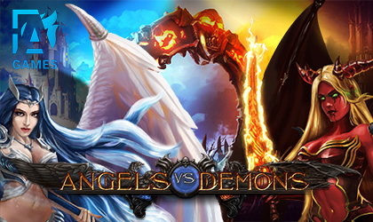 AGames Pits Angels vs Demons Against One Another in New Slot