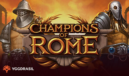 Champions Of Rome A Reel Slot for Voracious Players