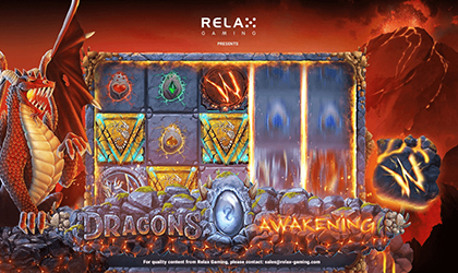 Relax Gaming Breathes Fire in Dragons Awakening Slot Release