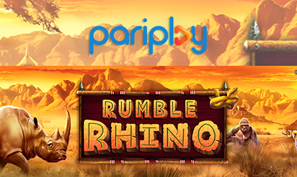 Help Save the Rhinos in Rumble Rhino Slot from Pariplay