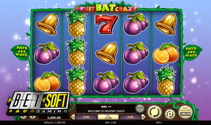 BetSoft Gaming Goes Crazy with Latest Slot Release