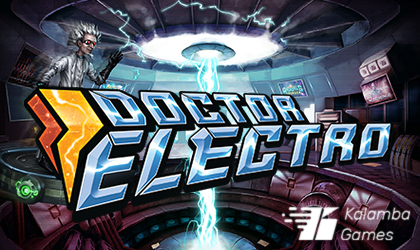 Kalamba Games to Open Doors of Its Electrifying Mind With Doctor Electro Slot