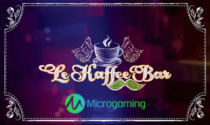 Microgaming Fulfills Caffeine Fix with Le Kaffe Bar Slot Release