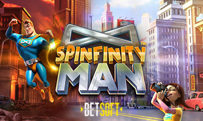 BetSoft Gaming to Roll Out Spinfinity Man Slot Where Prizes Lurk Around Every Corner