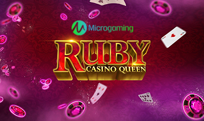 Microgaming to Go Live with Ruby Casino Queen Video Slot