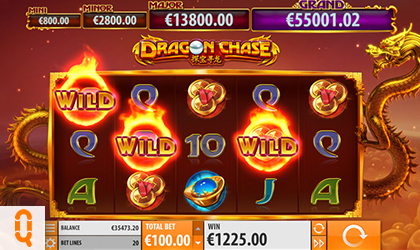 Quickspin Releases Slot and Jackpot Game Dragon Chase