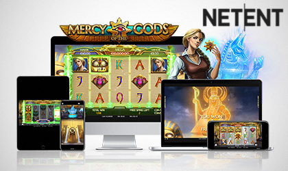 Mercy of the Gods Goes Live as NetEnt Expands Their Offer with New Titles