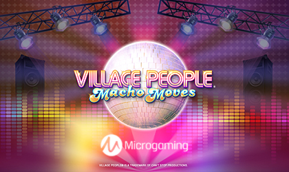 Microgaming Goes Live Slot Titled Village People Macho Moves