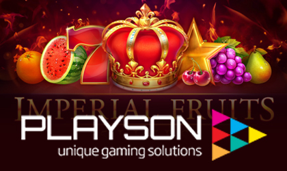 Playson Releases Imperial Fruits Slot Bringing Old School Aesthetics to a Modern Game