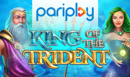 Pariplay Releases King of the Trident Slot and Stirs the Waters Once Again