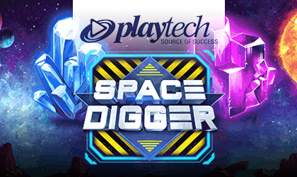 Playtech Releases Space Digger Slot Game and Debuts New Features