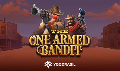 Yggdrasil Goes Live with The One Armed Bandit Slot and Challenges Players to a Duel