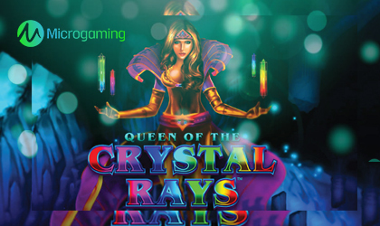 Microgaming Debuts Queens Of The Crystal Rays Reel Game
