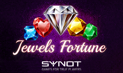 SYNOT Games Introduces a Fresh New Diamond-Themed Slot Game Titled Jewels Fortune
