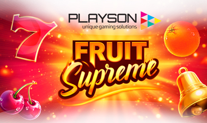 Playson Announces the Release of its Fruit Supreme 25 Lines Slot Game